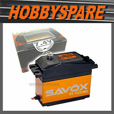 SAVOX SV-0235MG 1/5 DIGITAL 7.4v HIGH VOLTAGE SUPER SPEED SERVO 35KG BAJA LOSI