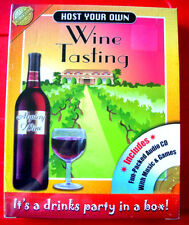 HOST YOUR OWN WINE TASTING EVENING Party/Drinking Game NEW SEALED+CD Quiz+Music