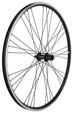 Mach 1 EXE 700c Black Rear 135mm Hybrid Bike Wheel Doublewall Shimano SS Spoke