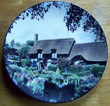 """ROYAL DOULTON ENGLAND. """"ANNE HATHAWAY'S COTTAGE"""" PLATE. TRANSLUCENT CHINA (4321)"""