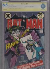 BATMAN #251 9/73  CBCS UNIVERSAL 8.5  SIGNED BY NEAL ADAMS  CLASSIC COVER- HOT!