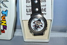 TAZMANIAN DEVIL 'BIKER DUDE' WATCH Quartz 1994 MIB