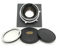 Schneider Symmar 300mm F5.6 / 500mm F12 Lens. Filter. Sinar Board For 4x5 Camera