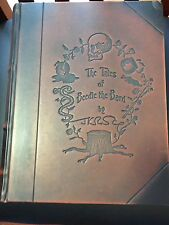 Tales of Beedle the Bard Deluxe Leather 1st with laid in signature of JK Rowling