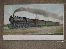 New York Centrals Express, Most Famous Train in the World, unused Vintage card