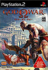 Used PS2 God of War SONY PLAYSTATION 2 JAPAN IMPORT
