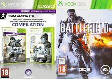 Ghost Recon Future Soldier y Advance Warfighter 2 & Battlefield 4 Nuevo y Sellado