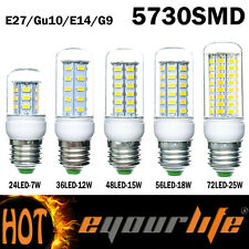 7W 12W 15W 18W 25W E14 E27 G9 GU10 5730SMD LED Corn Bulb Light Lamp 110V/220V MZ