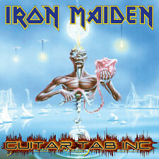 Iron Maiden Guitar Tab SEVENTH SON OF A SEVENTH SON Lessons on Disc