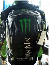 Kawasaki MOTORCYCLE Monster BLASTER BACKPACK MOTORCYCLE HELMET STORAGE