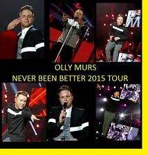 ★ OLLY MURS NEVER BEEN BETTER  2015 CONCERT 1200 PHOTOS CD LIVE TOUR SET  1+2 ★