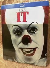 Stephen King's IT (1990) Blu-Ray Italy Exclusive Limited Edition STEELBOOK