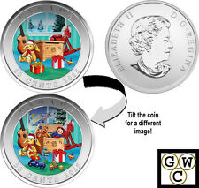 2015 'Holiday Toy Box' Lenticular 50ct Coin (17469)