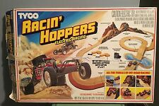 TYCO 1988 Racin' Hoppers Electronic Race Track Complete w/ 2 Turbo Hopper Cars
