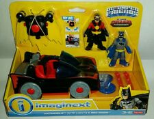 DC Super Friends Classic BATMOBILE Red Robin Batman Hero Showdown Imaginext