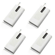 4pcs Wireless Vibration Breakage Door Sensor Home Alarm Window Breaking 433MHz