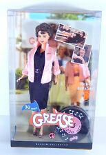 NIB BARBIE DOLL 2007 GREASE RIZZO 30 YEAR DOLL MUSICAL STAND PINK LABEL