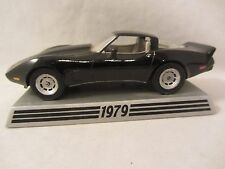 Danbury Mint  1979 Chevy Corvette  Black   1:43 scale (1016) NO BOX