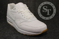 NIKE AIR MAX 1 ONE LEATHER PA 705007-111 OSTRICH WHITE GUM LIGHT BROWN SZ: 12