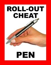 ROLL-OUT CHEAT NOTE PEN FOR EXAMS !! STUDENT CHEATING PEN - SEE VIDEO !
