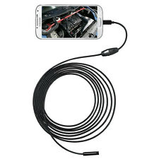 16ft Micro USB Endoscope Borescope Video Camera 6 LED for Car Truck Inspection