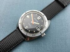 Vintage Solid Steel Waltham Diver Self-winding With date.