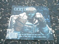 CINEFEX #128 vintage movie magazine (UNREAD - NO LABEL ) REAL STEEL