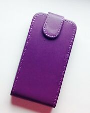 BRAND NEW Purple Flip Case For Iphone 3 /3G UK SELLER