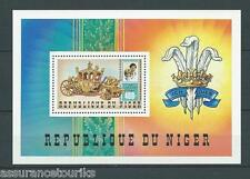 NIGER - MARIAGE DIANA CHARLES - 1981 BLOC YT 34 - TIMBRES NEUFS** LUXE