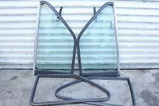 BMW E30 325i 325e shadowline pop out rear windows coupe pair