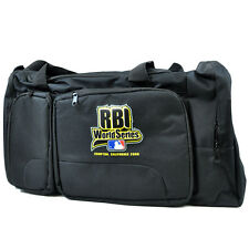 MLB Baseball RBI World Series Black Duffel Sport Travel Bag One Shoulder Strap