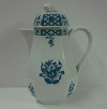 Villeroy Boch CHINA BLUE Full Size 4 Cup Coffee Pot Heinrich China