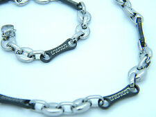 HIGH QUALITY STAINLESS STEEL GREEK STYLE LINK CHAIN  NECKLACE