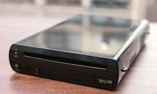 NINTENDO WII U BLACK 32GB CONSOLE UNIT - REPLACEMENT CONSOLE UNIT ONLY