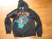RUSH STARMAN ZIPPER HOODIE BAND SZ - LARGE .. SHIRT  SWEAT BAND ROCK ROLL