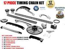FOR NISSAN NAVARA D40 2.5TD YD25DDTi 2006-2010 NEW 17 PIECE TIMING CHAIN KIT SET