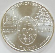"2011 Queen of Peace Apparition Mountain ""In God We Trust"" 1 oz .999 Pure Silver"
