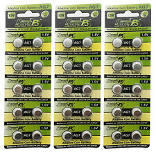 30 pcs AG7 395A SR927 SR57 LR927 927 1.5V Alkaline Button Cell Battery HyperPS