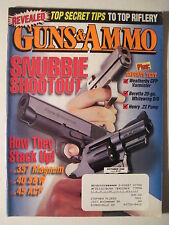 Guns & Ammo Magazine. October 1999. Snubbie- .357 .40 S&W .45 ACP Henry .22 Pump