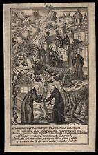 santino incisione 1700 S.ROMUALDO DI CAMALDOLI