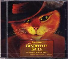 PUSS IN BOOTS Henry Jackman OST CD Der gestiefelte Kater Rodrigo y Gabriela NEU