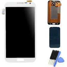 LCD Touch Screen Glass Digitizer Assembly for Samsung Galaxy Note 2 N7100 White