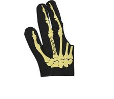 Voodoo Pool Billiards Large Glove Bone Skeleton Design Bridge Right Hand