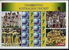 2004 Celebrating Australian Cricket - Special Events Sheetlet