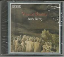 "BOB BERG  ""Virtual Reality"" Japan CD 1993 Denon NEU/OVP"