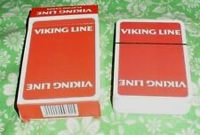 NEWEST SCANDINAVIA SHIPPING COMPANY VIKING LINE ADVERISING DECK OF PLAYING CARDS
