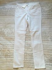 THE WHITE COMPANY White Slim Tall Jeans, UK 10, BNWT £95