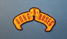 `GUNS N ROSES` SEW OR IRON ON PATCH