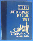1976-1981 Motor Auto Repair Manual 44th Edition First Printing Printed In U S A