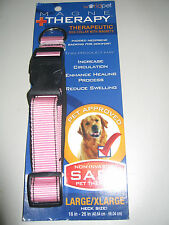 Dog Collar  with magnets Magne Therapy Worldpet size L / XL new